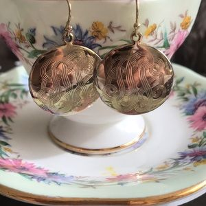 Vintage fashion earrings